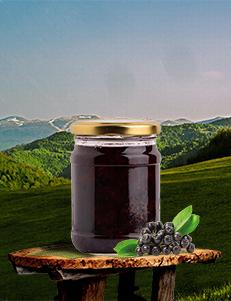 Džem / aronija 80% borovnica 20% / 400gr