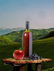 Hladno cijeđeni sok od Aronije 20% i Jabuke 80% / 1l / PREMIUM