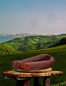 Ljuta kobasica / Planinska 600gr / PREMIUM