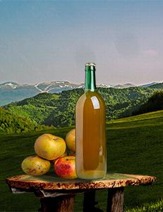 Sok jabuka kožara 80% pašinka 20% 1l