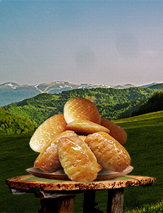 Domaći kolači / Šećerpare (Urmašice) / 500gr